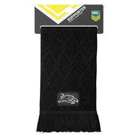 Panthers Cable Knit Scarf