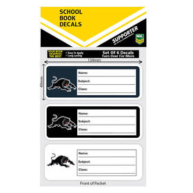 Panthers Book Labels